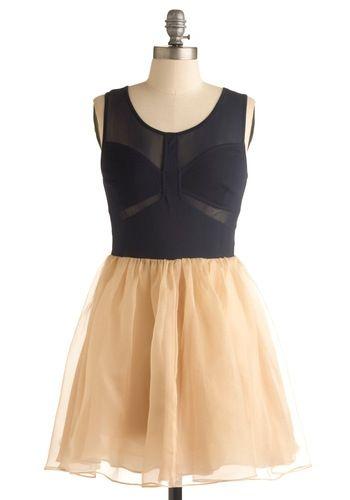Cut Out for Fun Dress | Mod Retro Vintage Printed Dresses | ModCloth.com - StyleSays