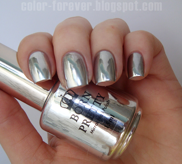 Very Me Metallic Nail Polish Shades: Born Pretty Mirror Nail Polish