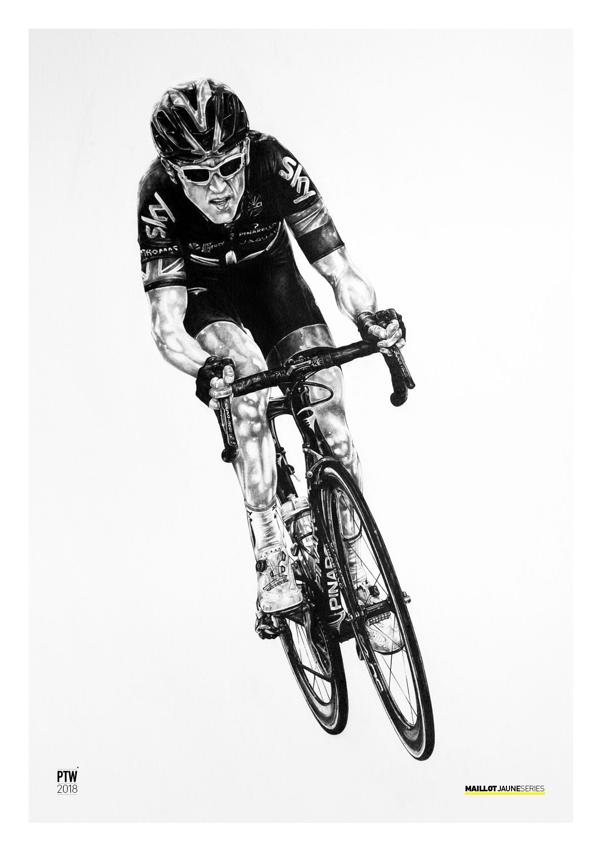 Cancellara Cavendish Merckx Cycling A2 limited edition art prints Sagan