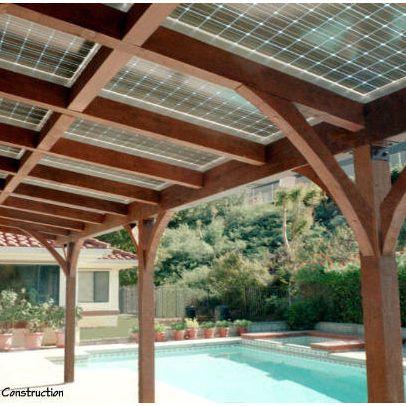 solar patio solar panels roof
