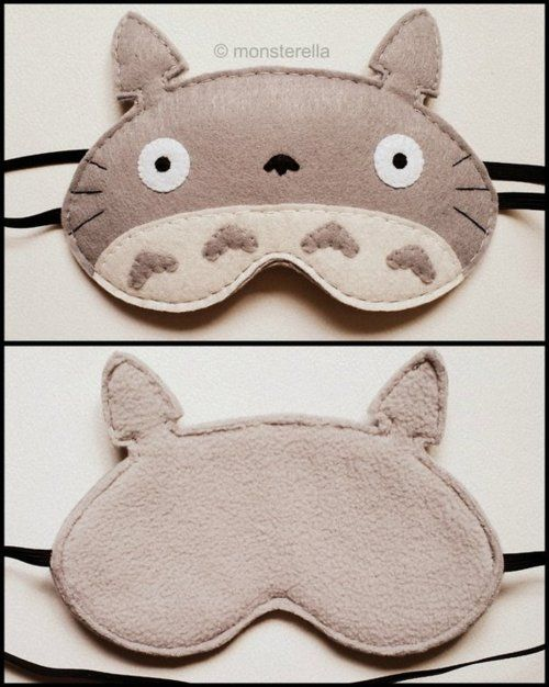 15546eea0e675 Totoro eyemask Peluches