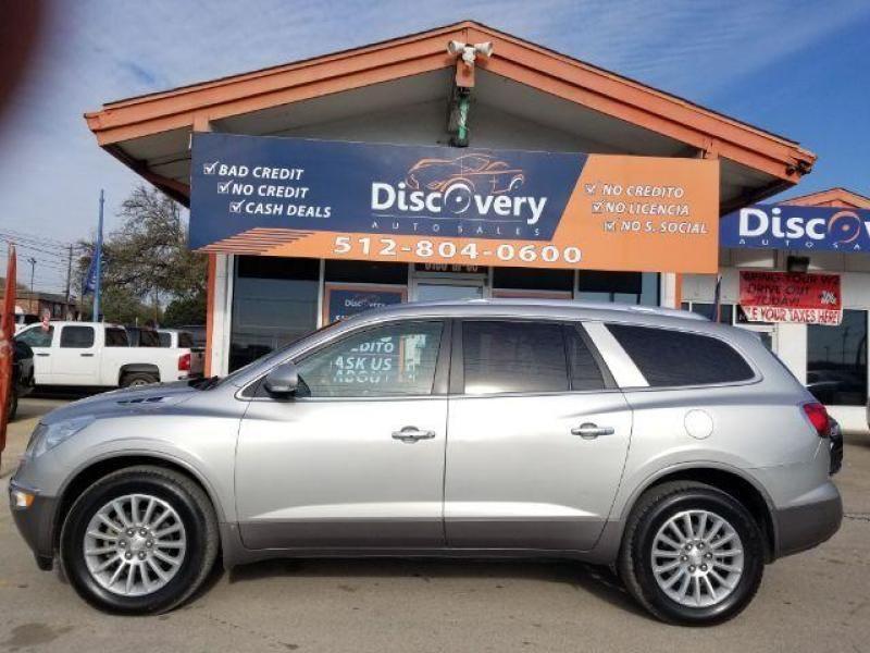 BestUsedCarAustinTX BuickEnclave Bad credit car loan