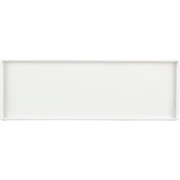 Bento White Rectangular Platter Decorative Wall Tiles