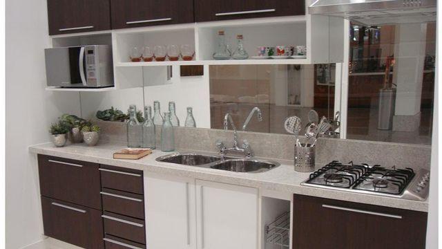 Espelhos Como Usar Na Decoracao Cozinhas Marrons Cozinha