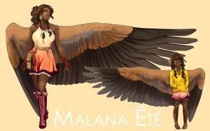 SB: Malana (2015) by Blue-Hearts   Wings art, Winged ...