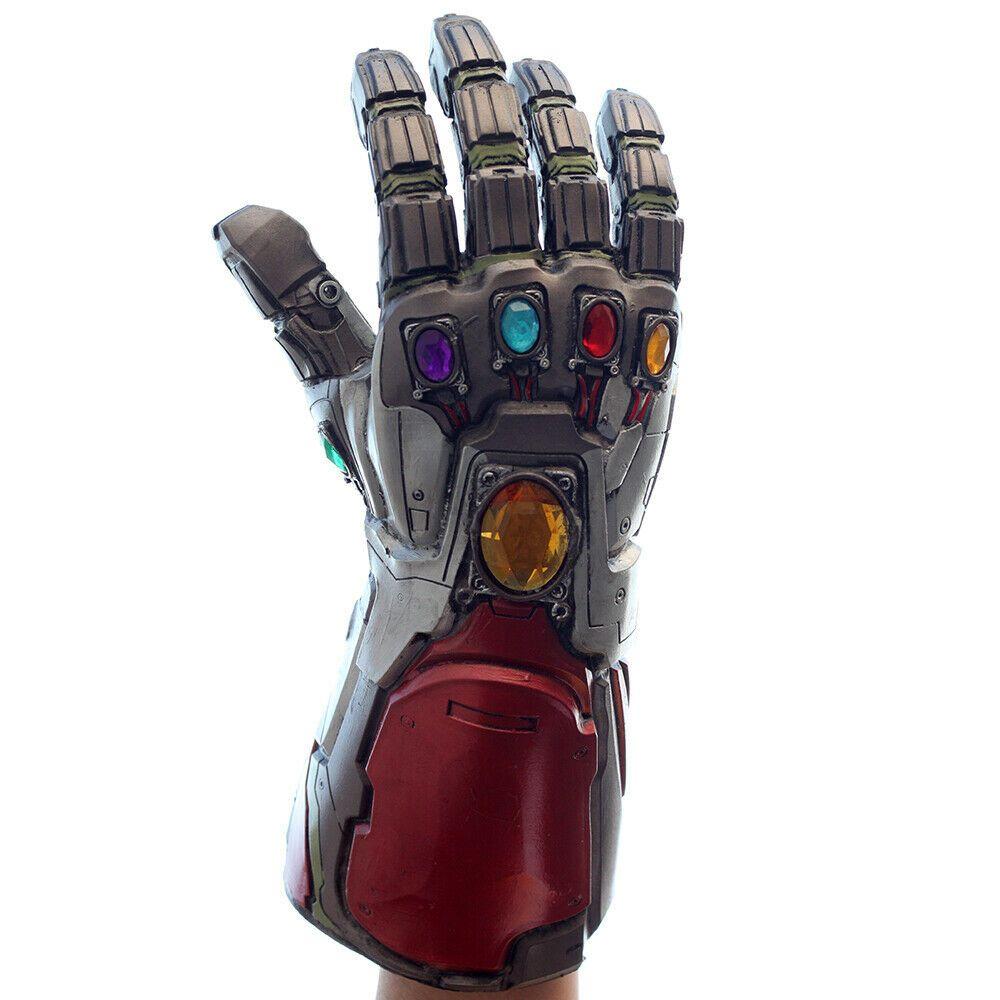 Iron Man Infinity War Gauntlet Gloves Marvel Avengers 4 Endgame w//LED Light