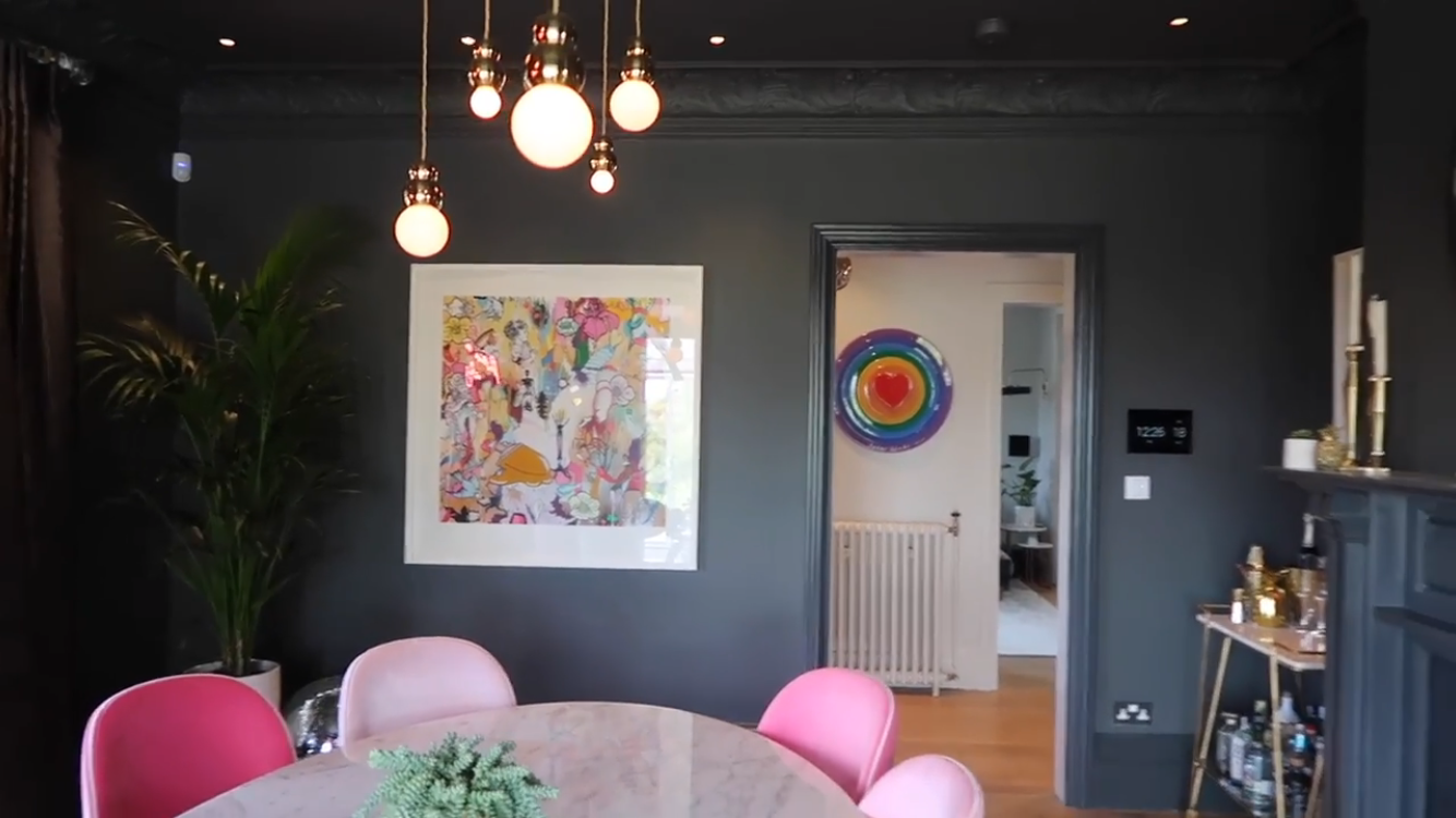 Zoella Home Dining Room