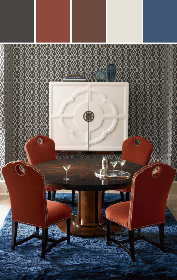 Century Furniture Designed By Schoenfeld Interiors Via Stylyze