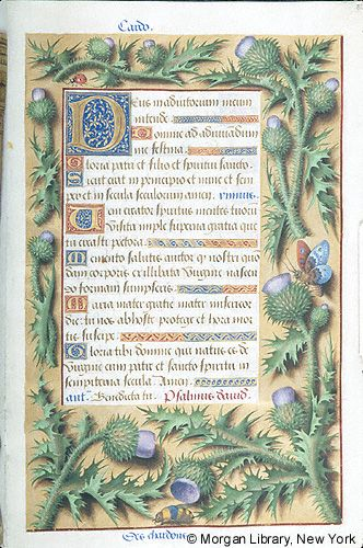Book of Hours, MS M.732 fol. 32r - Images from Medieval and Renaissance Manuscripts - The Morgan Library & Museum