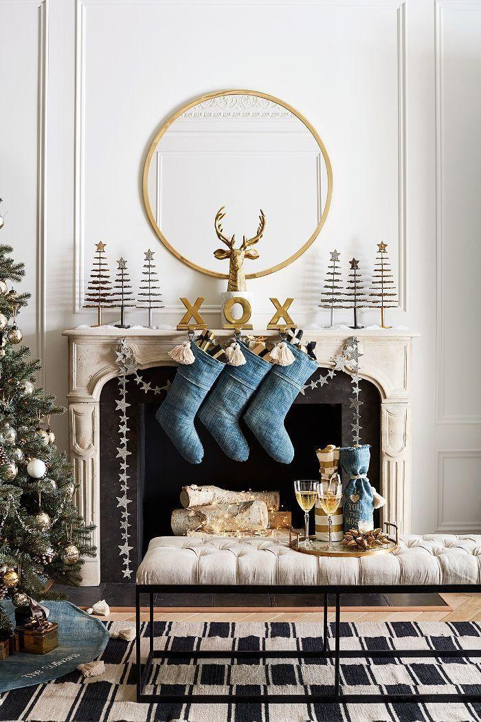 Decor Trends Pottery Barn Christmas Decor Family Room Makeover