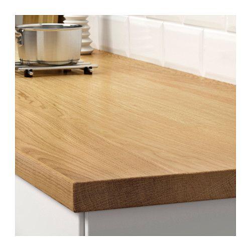 Ikea Kitchen Counter: MÖLLEKULLA Countertop, Oak