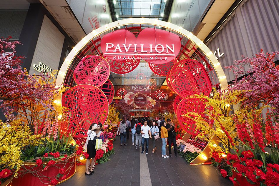 Entrance of Pavillion, Malaysia_Lunar New Year 2018_1