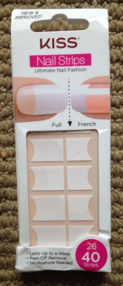 Kiss Nail Strips Sticker Boxed Nail Fashion #Kiss | Fabulous Nails ...
