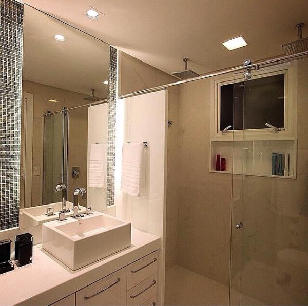 Luminaria Banheiro Teto Gesso Inspiração De Design De
