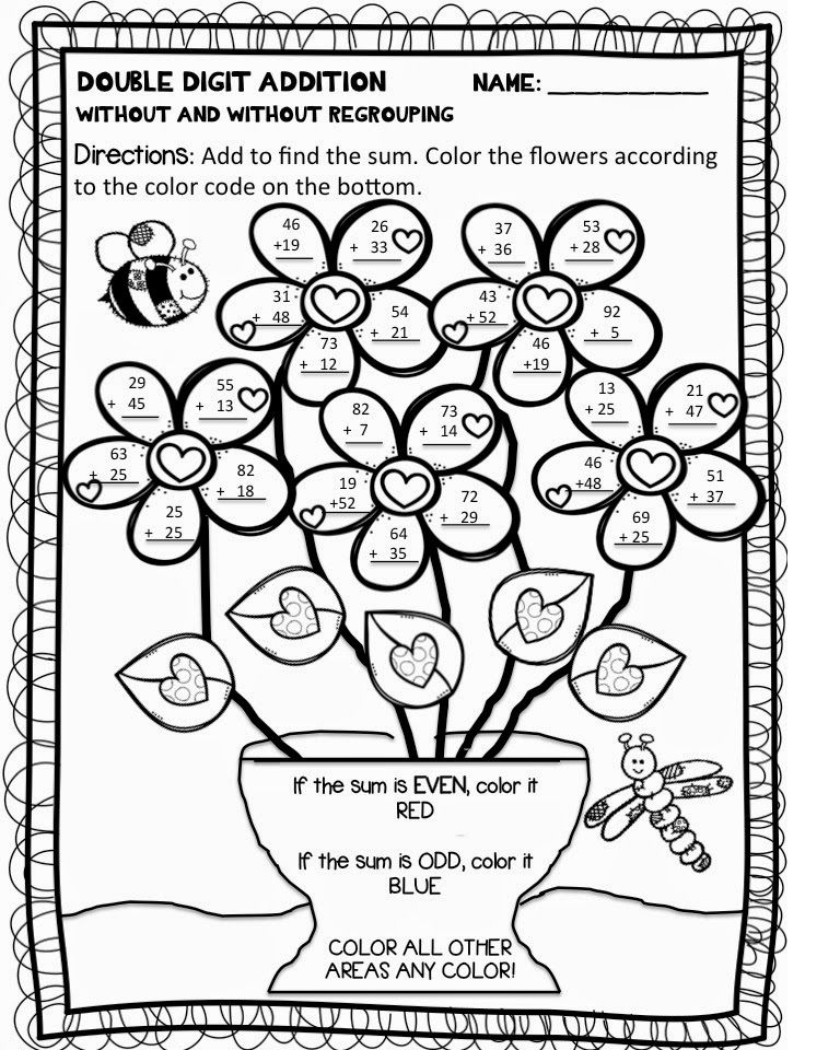 2 Digit Addition And Subtraction Coloring Worksheets Here You Can Find More Pictures For Addition Coloring Worksheet Math Coloring Worksheets Color Worksheets 2 digit addition coloring worksheets