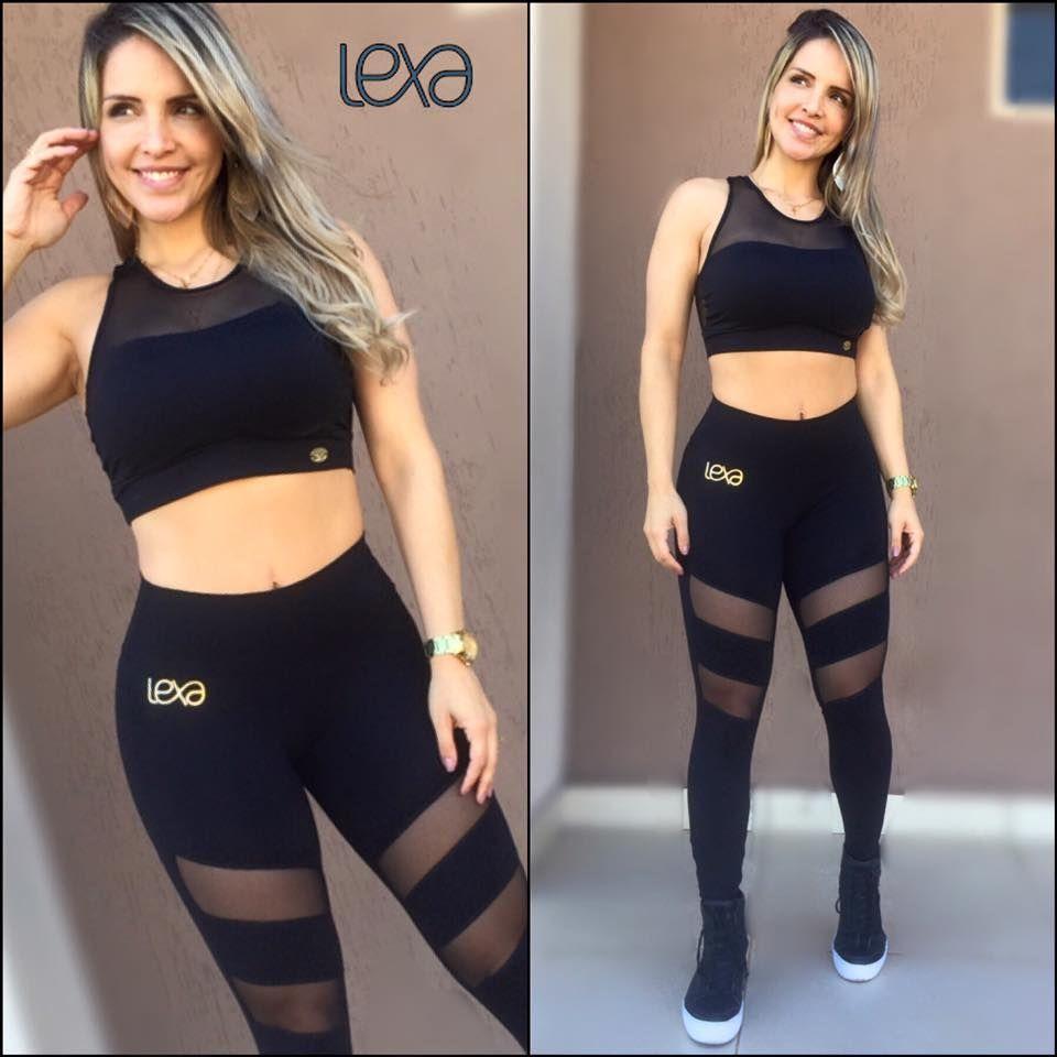 d8385810d Legging CA21 Preto. www.lexafitwear.com.br Lexa Fitwear é a linha ...
