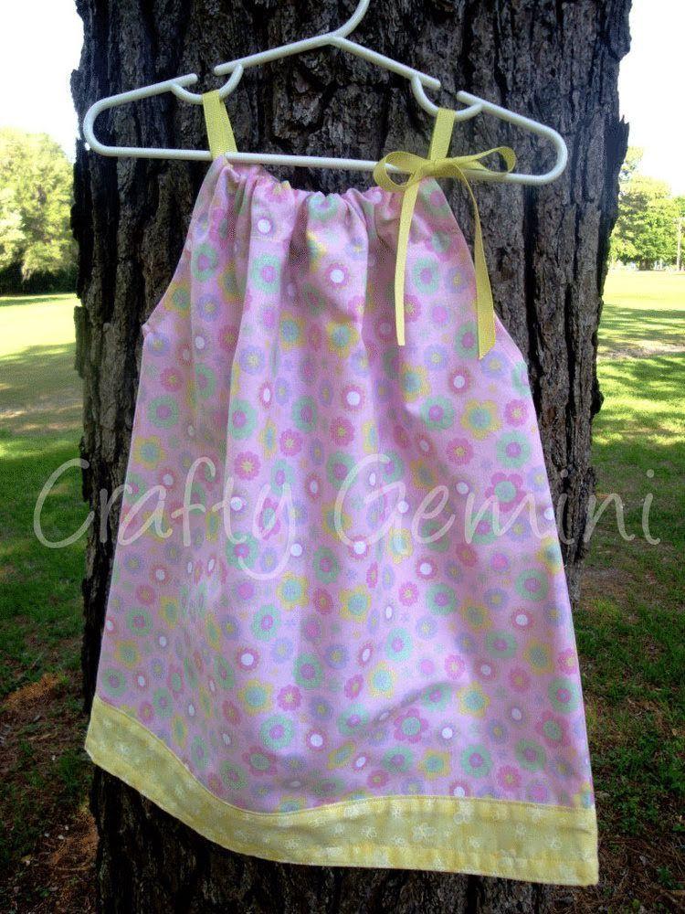 How to make a Pillowcase dress via YouTube. Pillowcase Dress Pattern Pillowcase Dress TutorialsBaby Dress TutorialsCrafty GeminiPillow ... & How to make a Pillowcase dress via YouTube. | Sewing Ideas for Me ... pillowsntoast.com