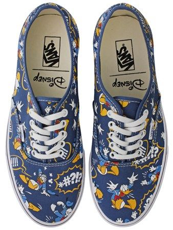 8b77a9d4e9 Buy Vans Disney Donald Duck Authentic Trainers