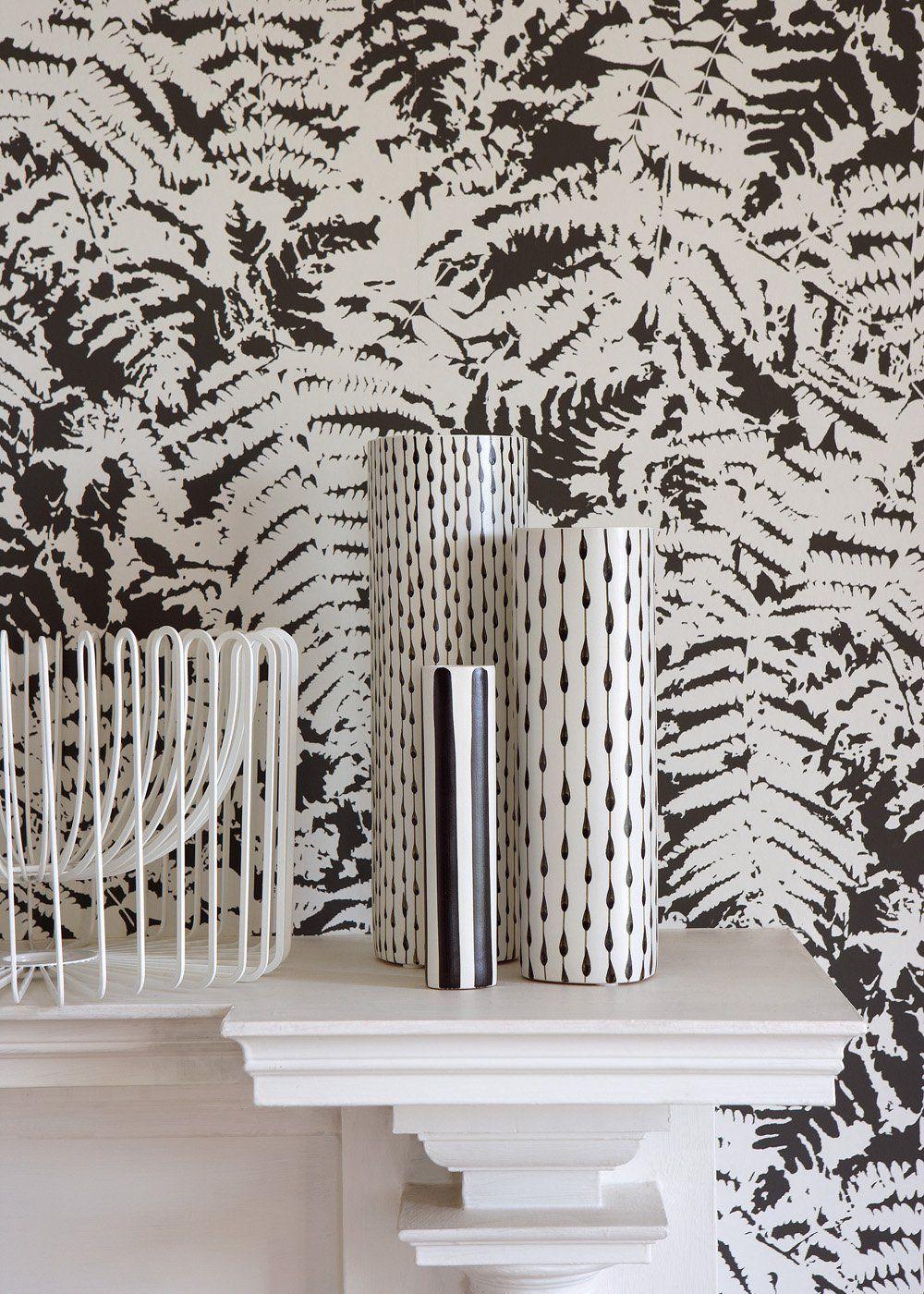Papier Peint Noir Et Blanc Graphique 10 modèles de papier peint noir et blanc pour un mur chic