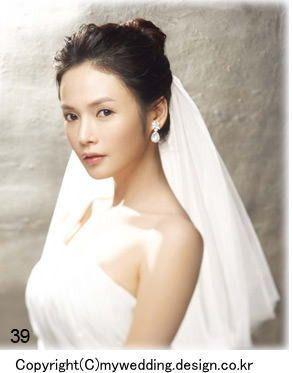 花嫁のヘアスタイル 韓国より ウェディング 花嫁 花嫁 ヘア