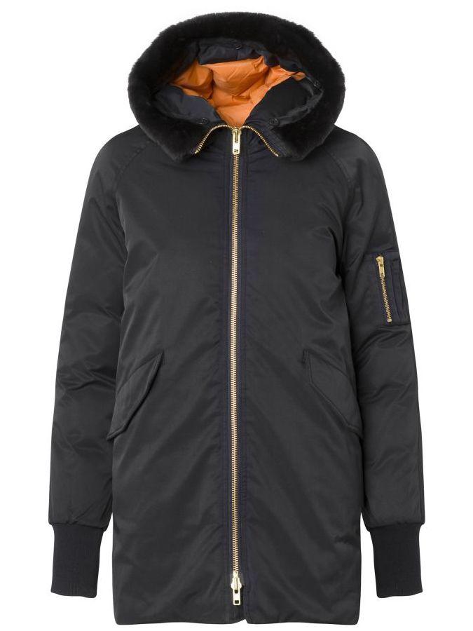 ef4cd54b Hale Jacket   Whyred   Stil   Jackets, Winter coat, Fur collars