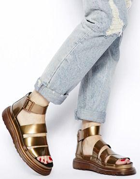 Sandales à plateformes noeud en daimUGG cpD3V