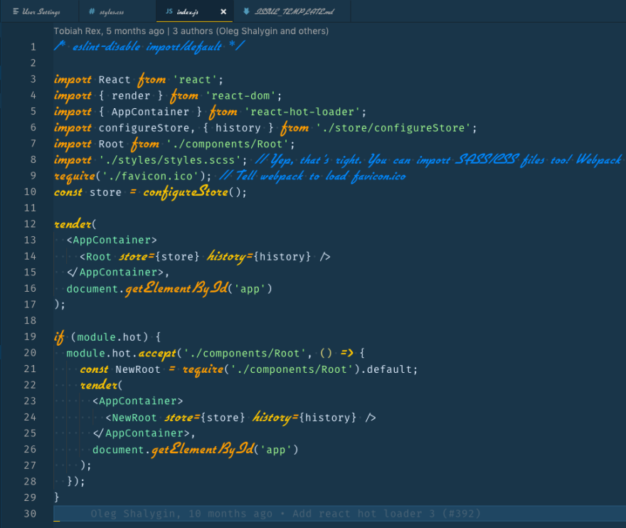 My Visual Studio Code Setup Dev Community En 2020