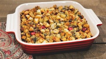 Zeldas family style thanksgiving stuffing recipe by zelda owens zeldas family style thanksgiving stuffing recipe by zelda owens the chew forumfinder Choice Image
