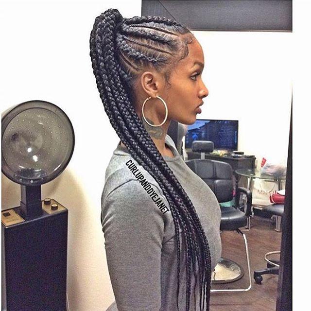 Tresses collées avec rajouts sur cheveux afro crépus naturels