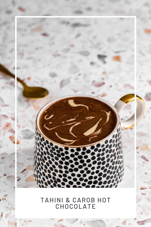 Tahini and Carob Hot Chocolate Le Famished Cat Recipe