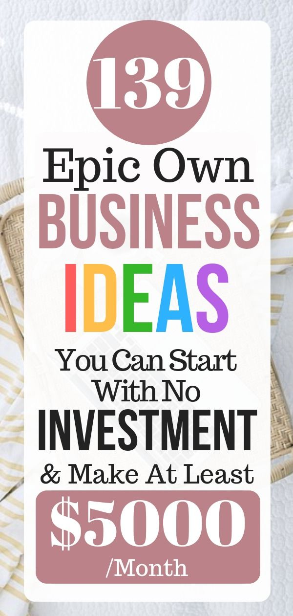 Home Business Ideas 2020.139 List Of Business Ideas To Make Money 2020 Own Business
