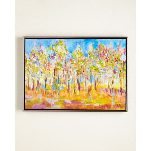 Orchard in Orchid Giclee ($450) ❤ liked on Polyvore featuring home ...