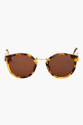 SUPER Brown Tortoiseshell PANAMA Sunglasses