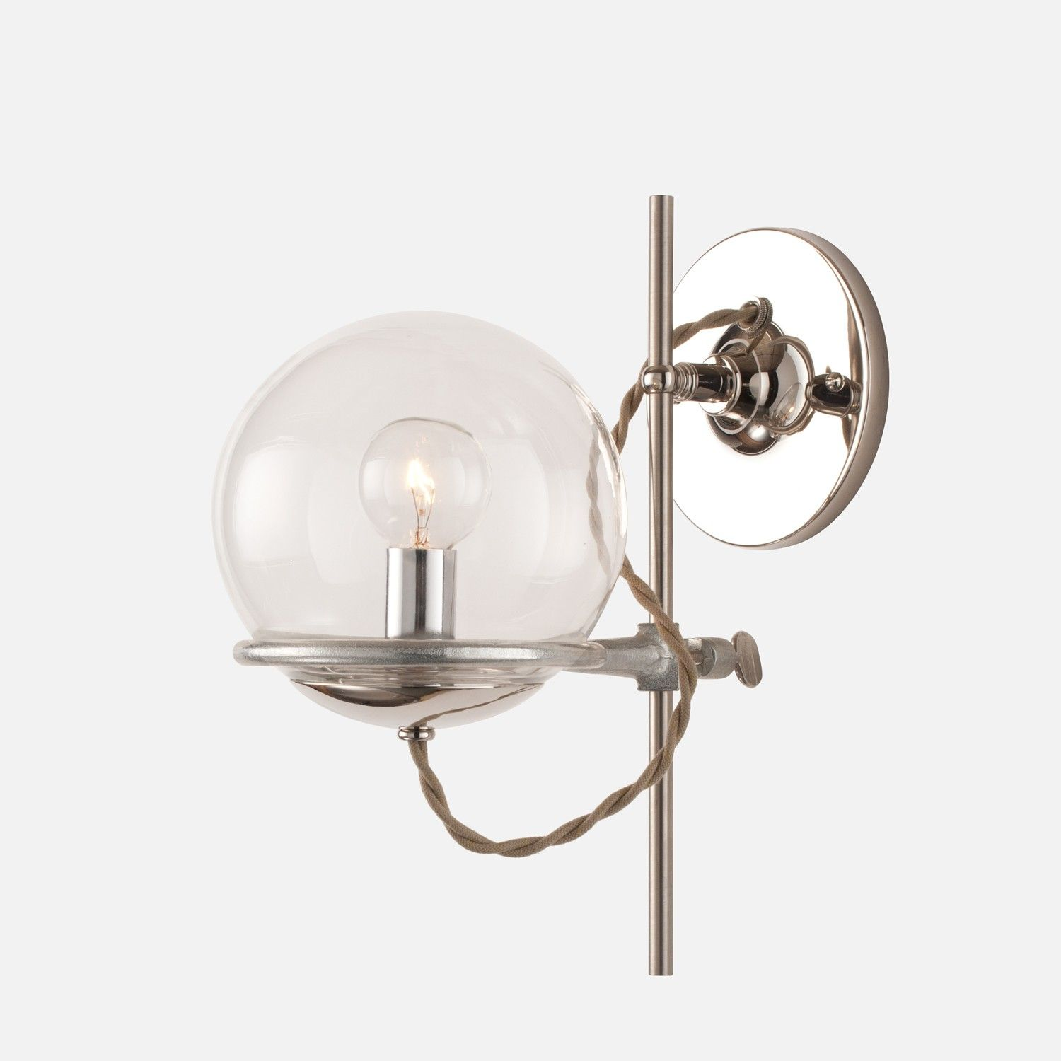 Orbit Sconce   Schoolhouse electric, Wall sconces and Lights