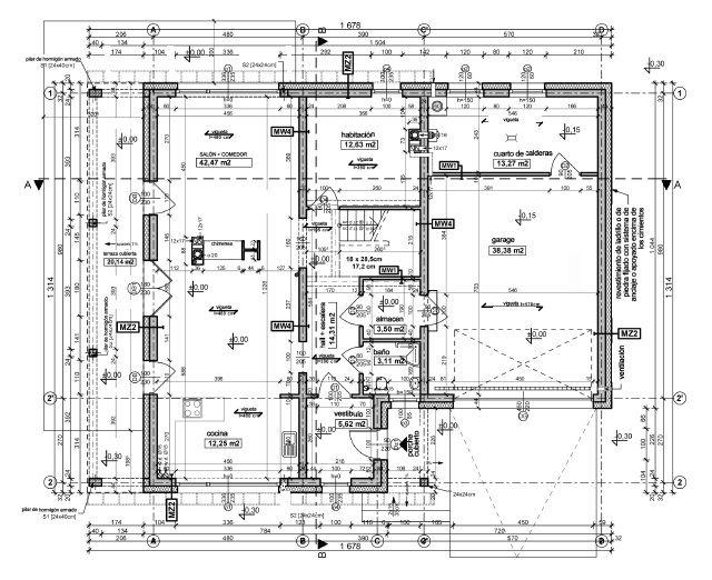 Funcionamiento proyectos de casas la forma m s for Planos de arquitectura pdf
