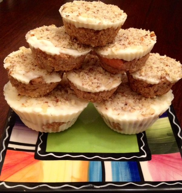 Healthier No Bake (White Chocolate) Carrot Cake Cups - Powered by @ultimaterecipe