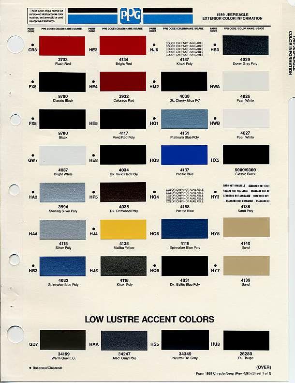 Auto Paint Codes Paint Code Paint Color Codes Car Paint Colors