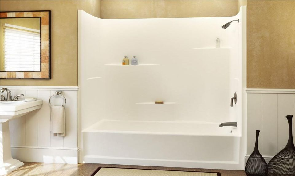 Get Rid Of Soap Scum On Every Bathroom Surface Fiberglass Shower Stalls Fiberglass Shower Shower Kits