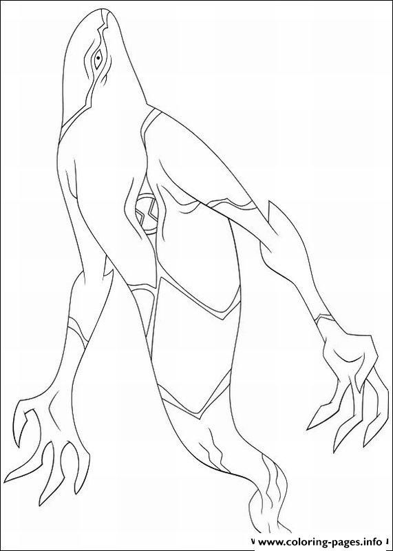 Print Dessin Ben 10 97 Coloring Pages
