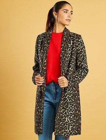 Kiabi manteau femme solde