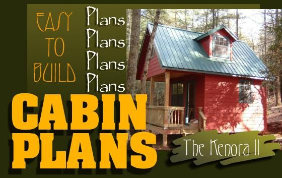 Easy To Build Cabin Plans Cabin Plans Cottage House Plans Cabin House Plans