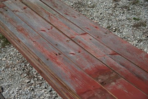 Red Cedar Tongue And Groove Barn Siding From Civil War Era Barn Near Pyrmont In Boards Are 3 4 Inches Thick 6 Inches Wide And 14 Fe Barn Siding Lumber Wood