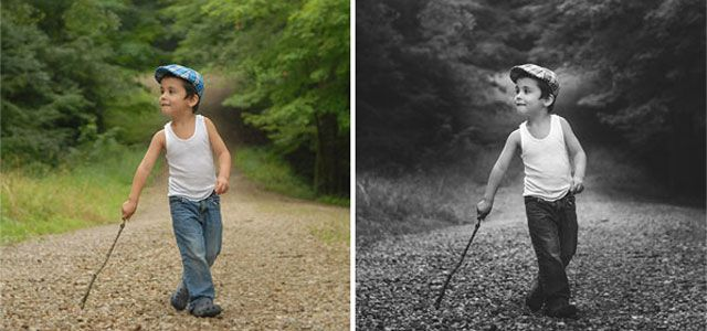 50 photo effect tutorials with photoshop