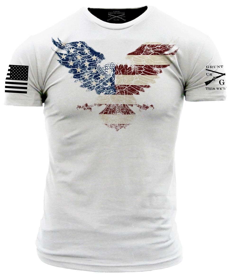 grunt style white freagle this we ll defend man s t shirts