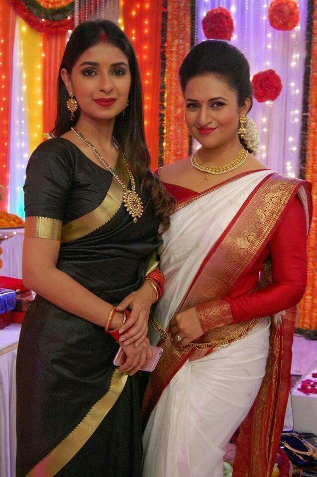 335cb20da323c0 Love you My Beautiful Mom Divyanka Tripathi | A YHM | Saree blouse ...