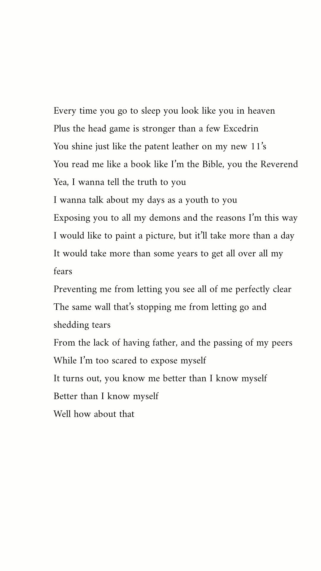 J Cole She S Mine Pt1 The Most Perfect Poem About Love J Cole Quotes J Cole Love Poems