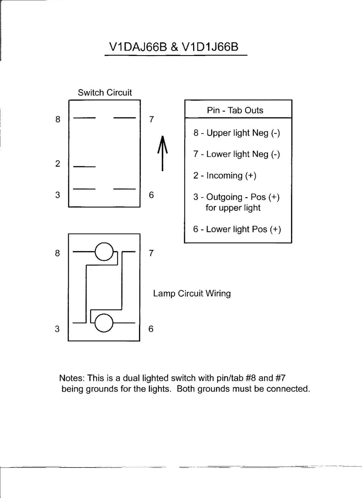 Carling 5pin switch diagram | Electrical | Free images
