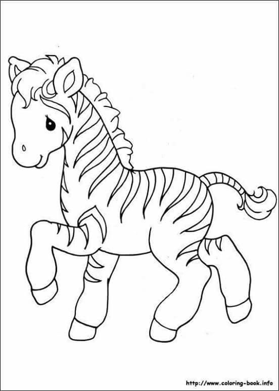 Baby Unicorn Zebra Coloring Pages Precious Moments Coloring Pages Coloring Pictures