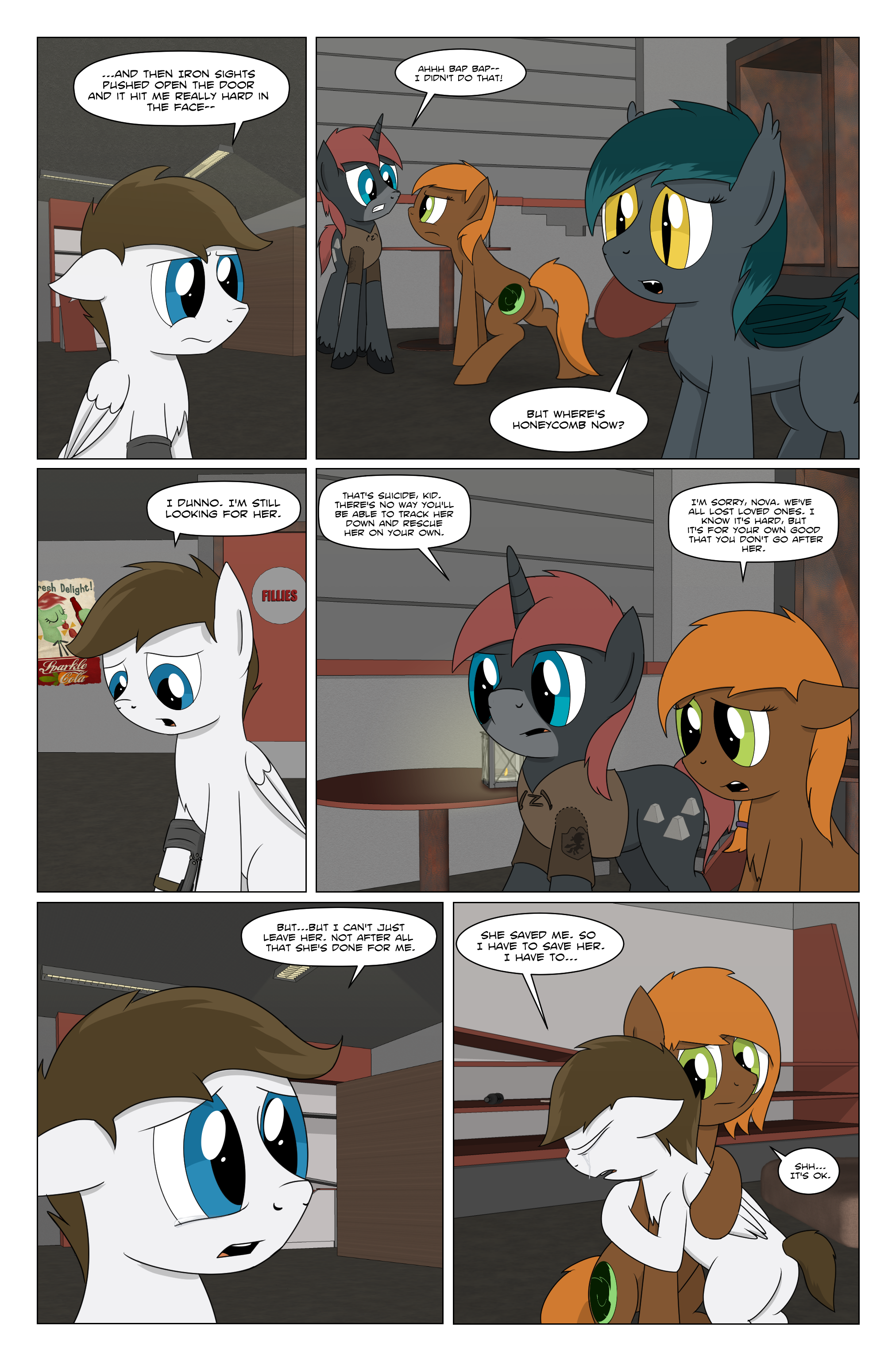 Fallout Equestria: Grounded page 73 by BruinsBrony216 on DeviantArt