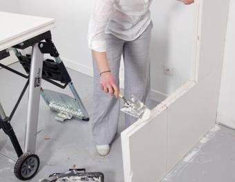 monter une cloison en dur construction mur pl tre cloison idees deco future maison monter. Black Bedroom Furniture Sets. Home Design Ideas